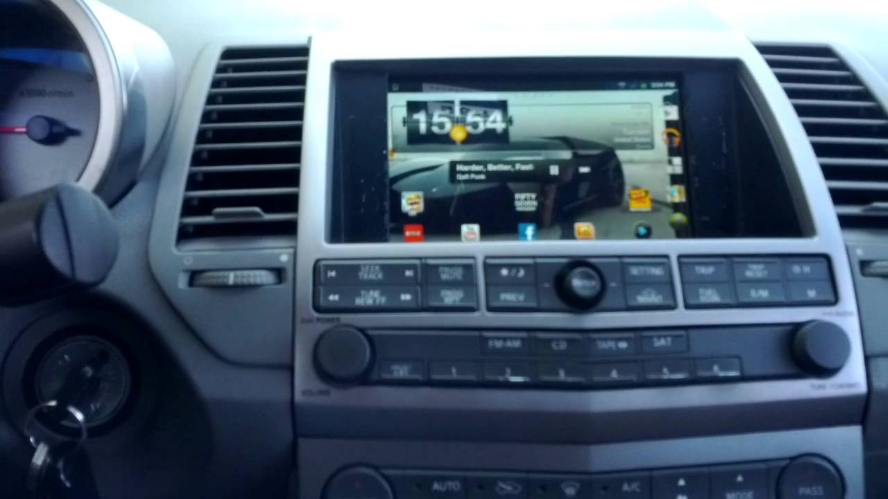 6thgen Double Din Radio Amp Tablet Gallery