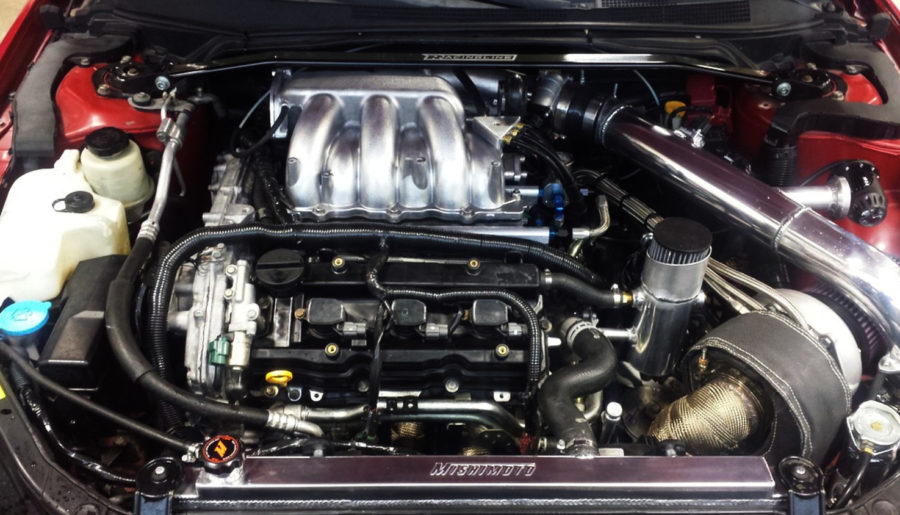 Aaron Curtner aka 05SickSer's VQ35DE Turbo Altima SE-R (528WHP / 443TQ)