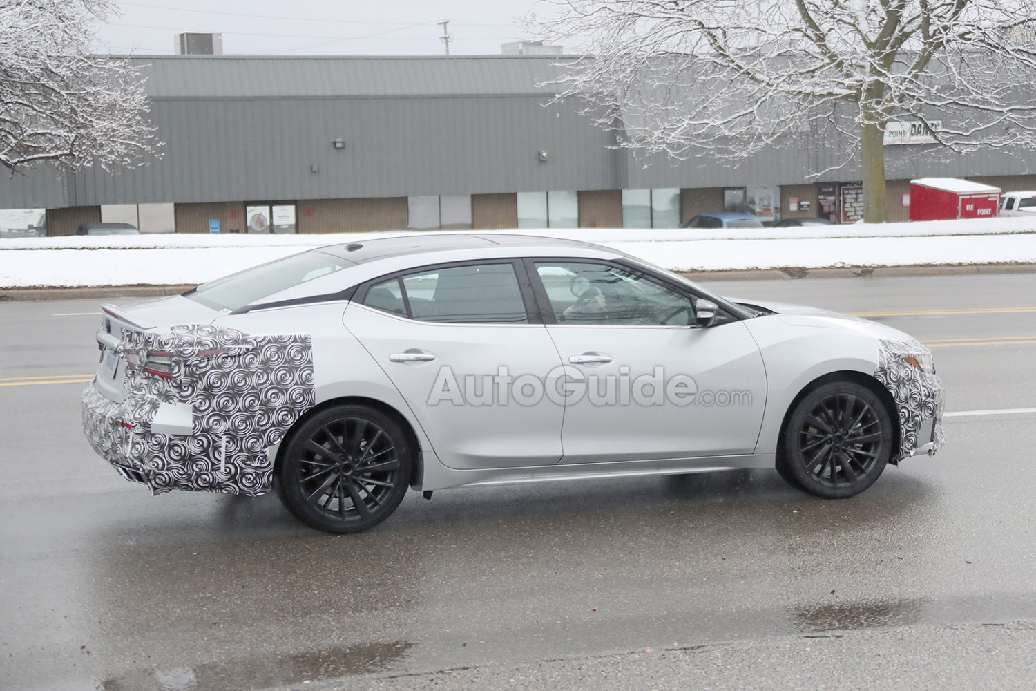 2019 Nissan Maxima aka 8.5gen Facelift Spotted For The ...